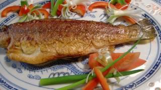 Chinese fried fish, 煎魚