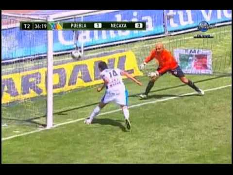 Goles Puebla vs Necaxa 1-0 J11 Clausura 2011 - YouTube