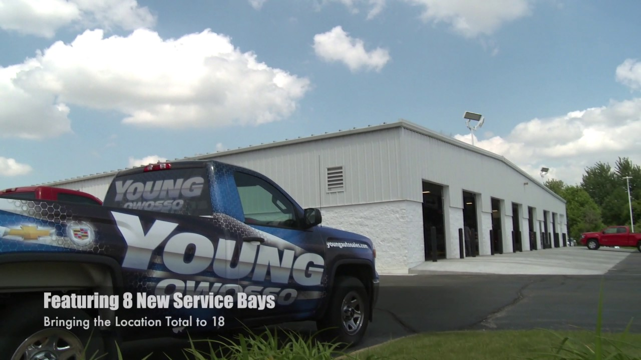 Young Chevrolet Cadillac Buick GMC in Owosso - YouTube