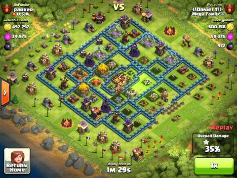 Clash Of Clans ¨jump Spell To Make Attack Much Easier¨