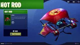Hot Rod Glider Skin Uncommon Loot Item for Fortnite Battle Royale