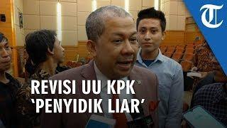 Komentari Revisi UU KPK, Fahri Hamzah Singgung Penyidik Liar