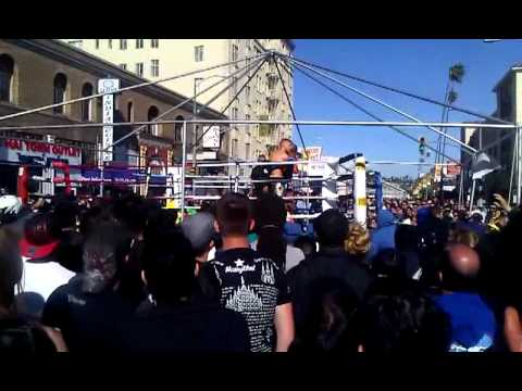 Jacob's fight @ LA Thai Festival Songkran 04.01.12