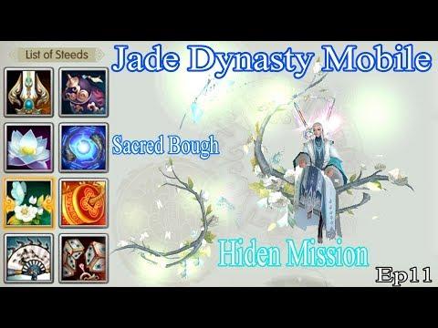 Jade Dynasty Mobile   Esper Hide Mission Sacred Bough