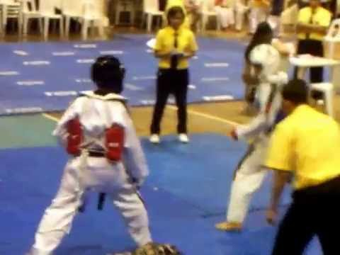 2009 Mindanao CPJ TKD Championship Butuan City FINALS 1st Round