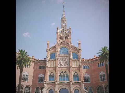 Sant Paul hospital and Palau de la Musica tour with pupz! | Travel video#9