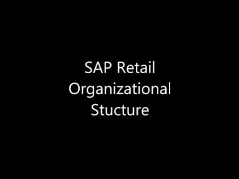 DAY 2: SAP Retail Organizational Structure