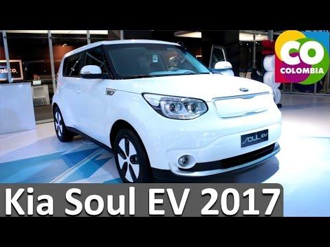 Nuevo Kia Soul EV 2017 Ficha Tecnica y Caracteristicas - Carros Electricos Colombia 2017