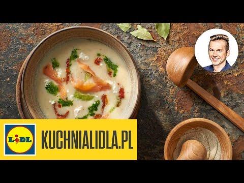Zupa Z Porow Z Wedzonym Lososiem Karol Okrasa Przepisy Kuchni