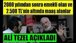 Ali Tezel intibak emekli zammı ile düşük maaş alanlara 5'li formülü ilk kez verdi
