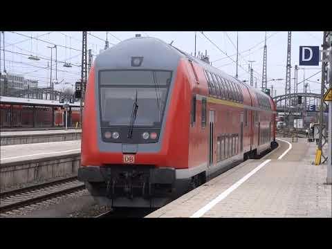 München Hbf Ausfahrt Re 57590 Nach Kempten Allgäu Hbf Mit 218 446