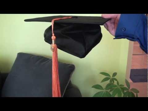 How to Wear a Graduation Cap And Gown - YouTube 066a281d50f