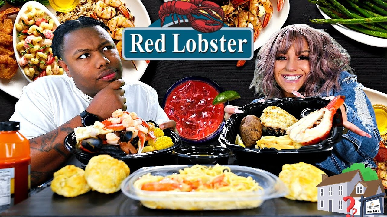 We Have A Dilemma Red Lobster Mukbang