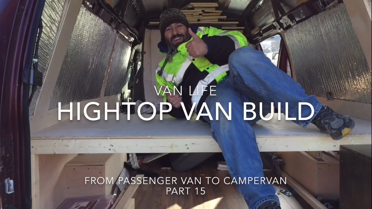Van Life Bed And Couch Hightop Van Build From