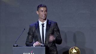Cristiano Ronaldo - Best Player of the Year - Globe Soccer Awards 2019