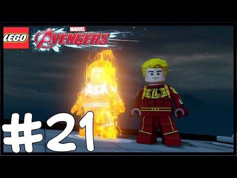 HUMAN TORCH! - LEGO Marvel's Avengers Free Roam - Part 21(Türkçe Gameplay) HD