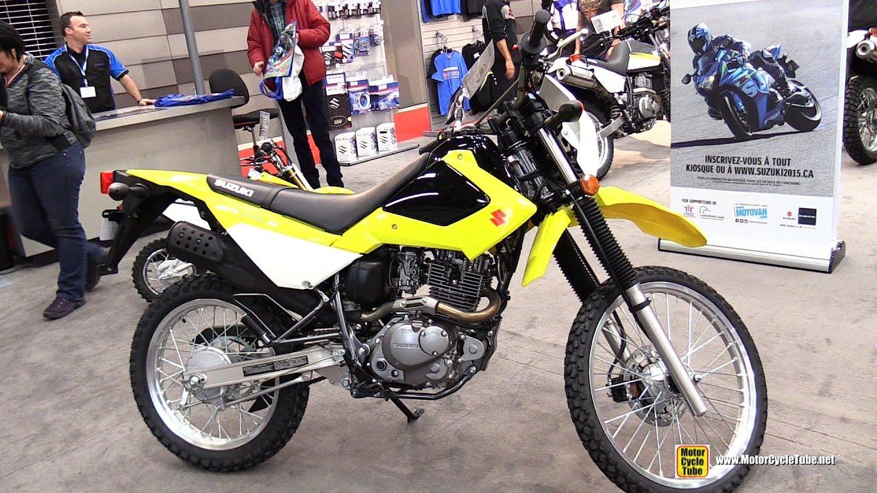 2015 suzuki dr200s dual sport - walkaround - 2015 salon moto de