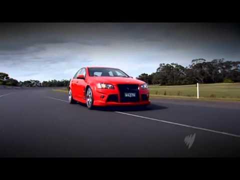 Top Gear Australia - Holden Special Vehicles HSV W427