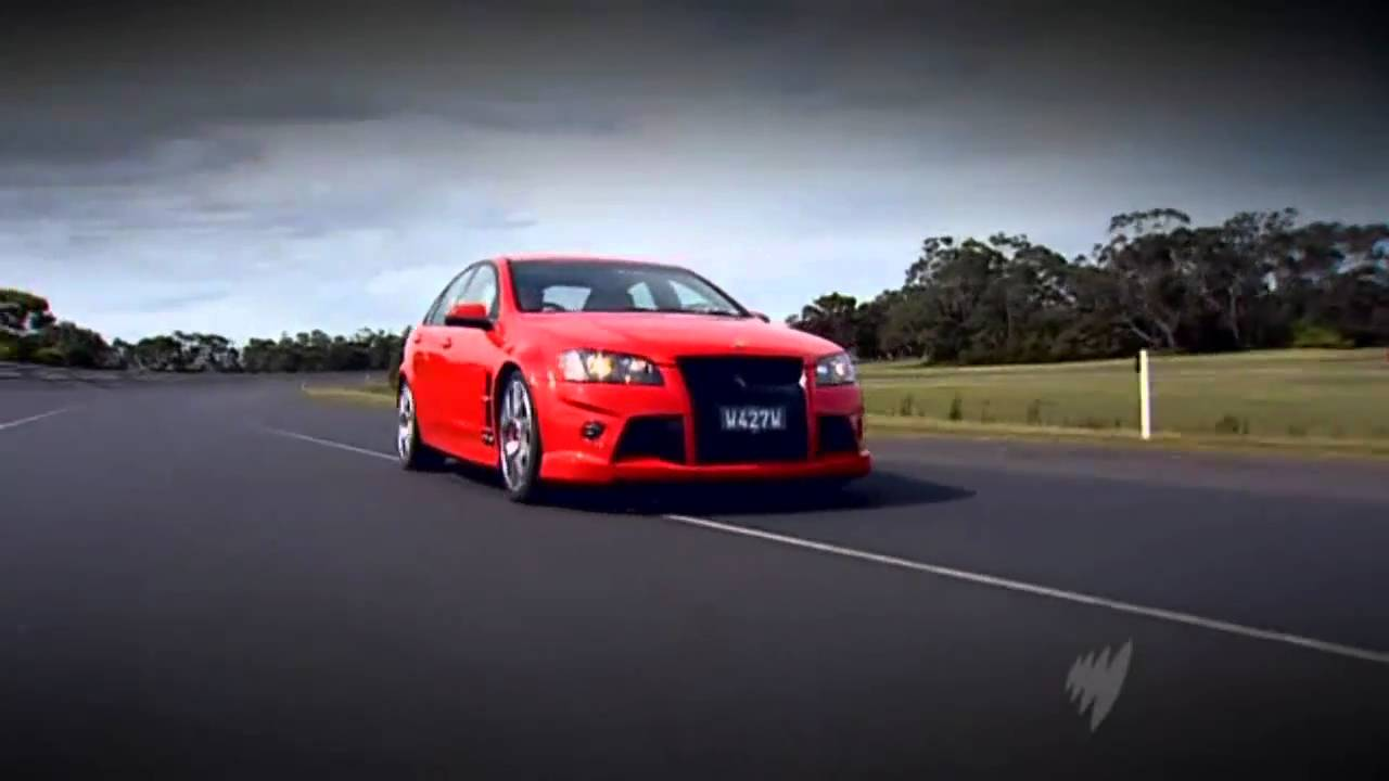 Top Gear Australia Holden Special Vehicles Hsv W427