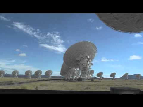 Alien Contact,...Are we alone?,.....VLA Radio Telescope, New Mexico!