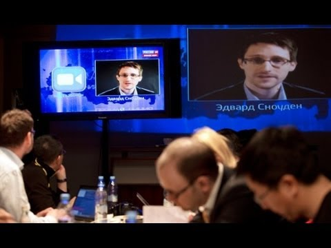 Why Did Snowden Ask Putin The Surveillance Question?