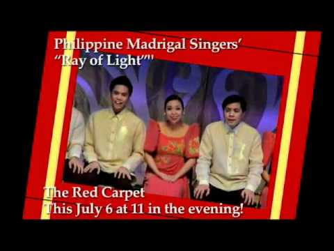 Philippine Madrigal Singers- on The Red Carpet - On Friday (July 6) 11pm on Net 25