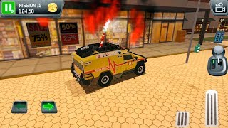 Emergency Driver Simulator City Hero Fire Rescue - Gameplay Android & iOS game
