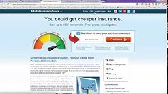 Car Insurance Calculator Online without Personal Information