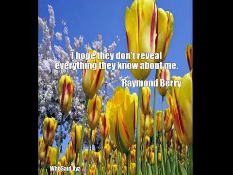 Raymond Berry: I hope they don