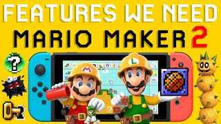 10 Things I Want in Super Mario Maker 2