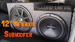 """Buying a 12"""" Kenwood Subwoofer Off Offer Up - Does it Work?"""