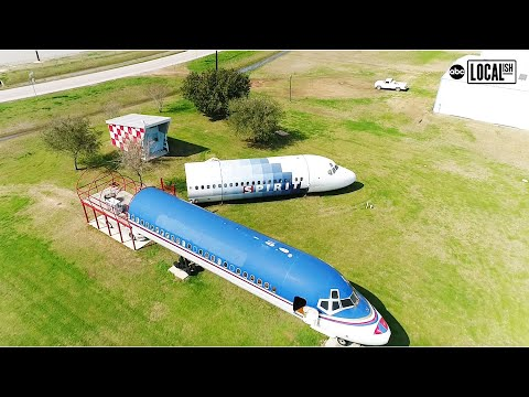 Man lives in Airplane House in Houston | Localish