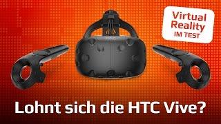 HTC VIVE im TEST | Lohnt sich der teure Virtual-Reality-Ausflug?