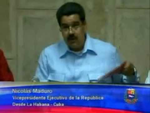 Parte médico del 30 de diciembre: Maduro habla con Chávez, informa de nuevas complicaciones