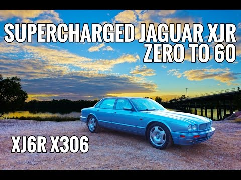 Loud Supercharger Whine Jaguar XJR Supercharged 6 XJR6 0-60mph 0-100kph EP#2