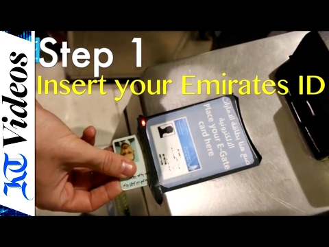 How to use Emirates ID at Dubai International to beat long queues
