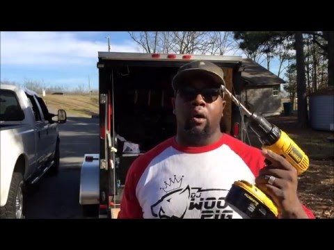 DJ D.I.Y | STORING TRUSS IN YOUR TRAILER