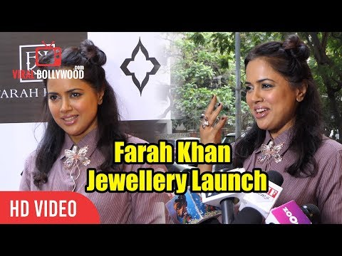Sameera Reddy At Farah Khan Fine Jewellery Launch | First Ever Monogram Collection