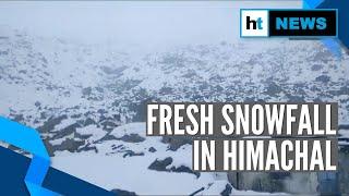 Fresh snowfall in parts of Himachal Pradesh, temperature dips.mp3