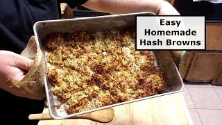 Easy Homemade Hash Browns - Baked In The Oven
