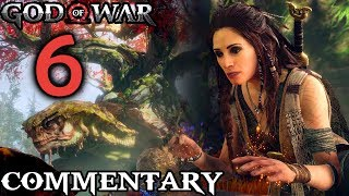 God Of War 4 Gameplay Walkthrough Part 6 - The Witch In The Woods, Stunning Location