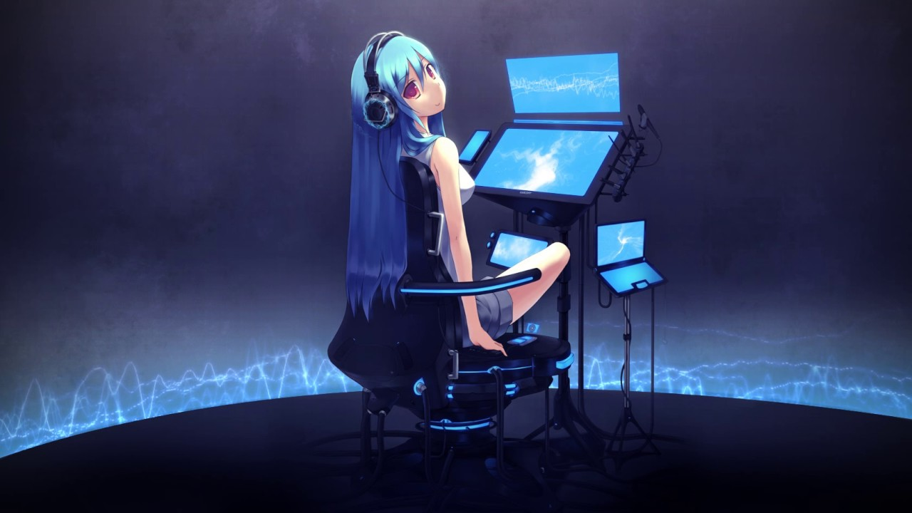 Anime girl video wallpaper background youtube - Anime background for youtube ...