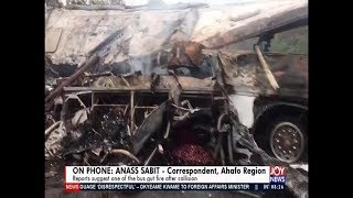 Breaking News: Kintampo-Techiman Accident - AM Show on JoyNews (22-3-19)
