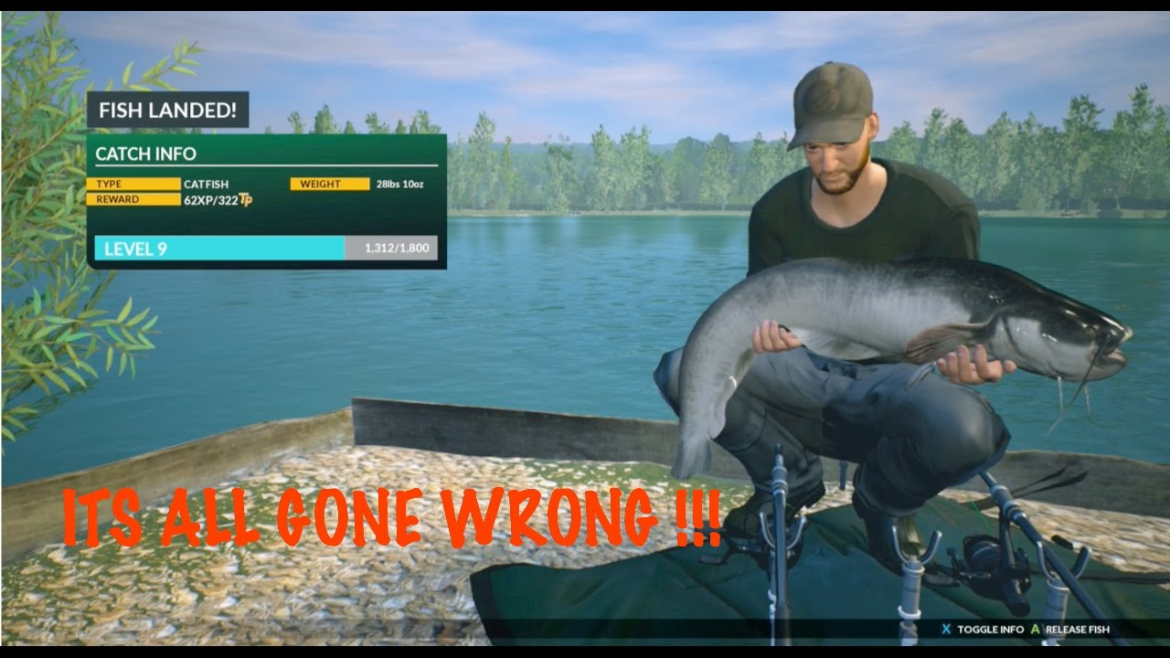 Hunting for catfish ep2 dovetail euro fishing xbox one for Fishing xbox one