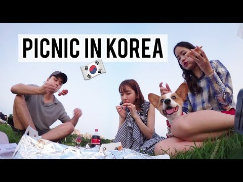Picnic, Shopping, Board Games & Food In Seoul! Ft. Sunnydahye