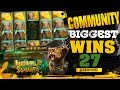 CasinoGrounds Community Biggest Wins #27 / 2017