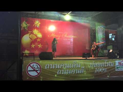 Karaoke Krabi Night market (Jan 3, 2016)