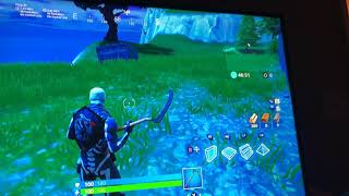 Going to the ice berg in Fortnite