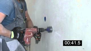 Т6.1 Высверливание ниши для подрозетника в бетоне