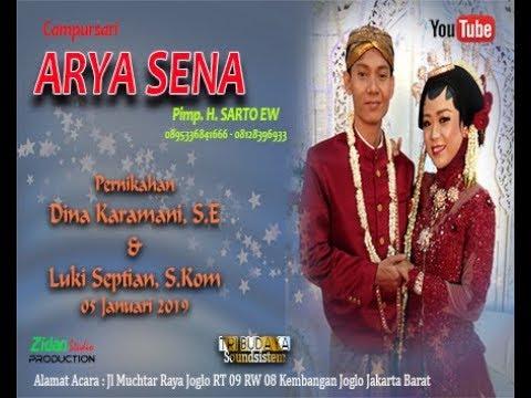 Pernikahan Dina & Luki bersama Campur sari ARYA SENA 05 Januari 2019
